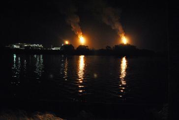 Dos Bocas im südlichen Mexiko, hier soll demnächste die Erdölförderung noch gesteigert werden