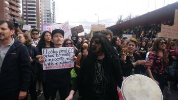 Protest wegen Gewalt gegen Frauen in Ecuador