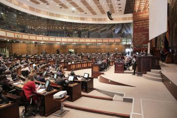 Parlament von Ecuador, hier in einer Aufnahme aus 2017