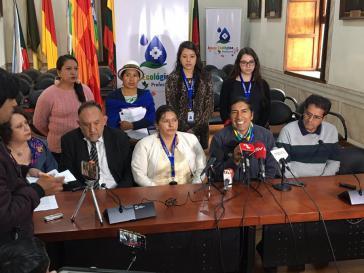 Kündigt nach dem Gerichtsurteil weiteren Widerstand gegen die Bergbauprojekte an: Der Präfekt von Azuay, Yaku Pérez