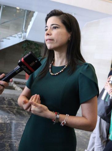 """""""Präsident Moreno muss von seinemAmt zurücktreten"""": Abgeordnete Esther Cuesta aus Ecuador"""