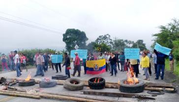 In der Hauptstadt Quito und anderen Landesteilen kommt es zu Straßenblockaden