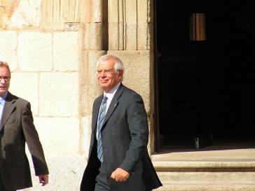 Soll nach dem Willen Oppositioneller ab dem 1. November den Druck auf Nicaraguas Regierung erhöhen: der designierte EU-Außenbeauftragte Borrell