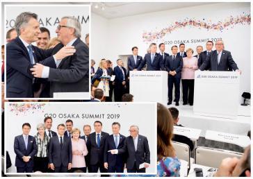 EU-Kommission und Staatschefs feiern Freihandelsabkommen zwischen EU und Mercosur