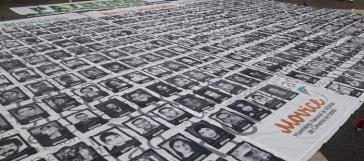 Opfergruppen demonstrieren in Kolumbien immer wieder gegen die Straflosigkeit von Staatsverbrechen