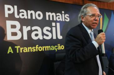 Will Brasilien ultraliberal umbauen: Der zum Wirtschaftsminister aufgestiegene Finanzinvestor Paulo Guedes