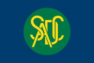 Flagge der Entwicklungsgemeinschaft des südlichen Afrika (SADC)