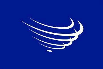 Fahne der Union südamerikanischer Nationen (Unasur=