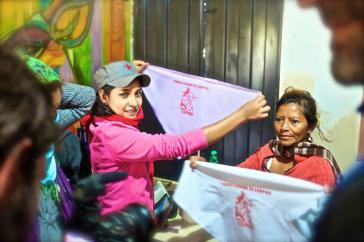 Das Gedenken an Berta Cáceres ist auch am Weltfrauentag in Honduras spürbar