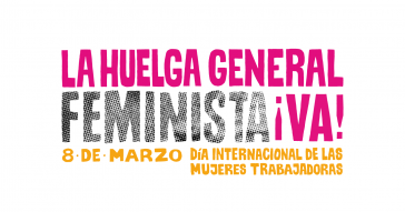 Aufruf zum Frauenstreik am 8.März in Chile