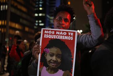 Nach dem Mord an der achtjährigen Ághata Felix durch die Polizei von Rio kam es landesweit zu Protesten