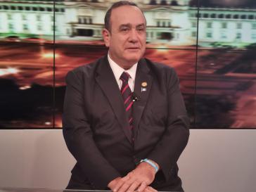 Der rechte Kandidat Alejandro Giammattei gilt bei der heutigen Stichwahl als Favorit