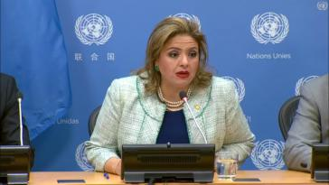 Die Außenministerin von Guatemala, Sandra Jovel, hat am Montag das Mandat der CICIG für beendet erklärt