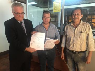 Vertreter der Landarbeiterorganisation Codeca fordern die sofortige Rücknahme des Ausnahmezustands