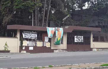 Seit dem 1. August ist auch die San Carlos-Universität in Quetzaltenango besetzt