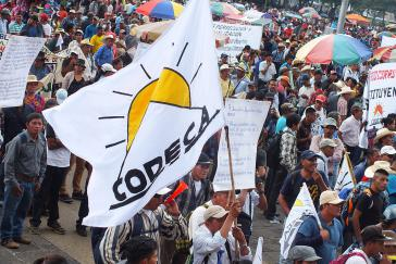 Die Landarbeiterorganisation Codeca in Guatemala beklagt die Verfolgung ihrer Mitglieder