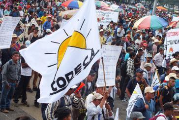 Die beiden ermordeten langjährigen Aktivisten Isidro Perez und Meliso Ramirez waren Mitglieder der Landarbeiterorganisation Codeca