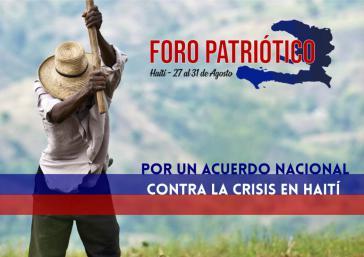 """Auf dem """"Patriotischen Forum"""" wurde die Etablierung eines Nationalen Dialogs zur Überwindung der Krise in Haiti gefordert"""