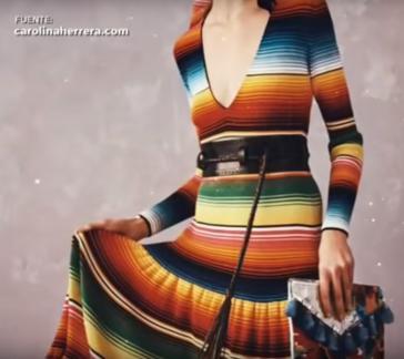 Die Designerin von Luxuskleidung, Carolina Herrera, steht in Mexiko wegen des Vorwurfs des Plagitas indigener Muster in der Kritik