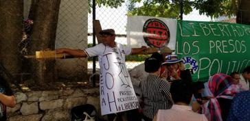 Unterstützer der Inhaftierten