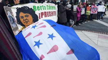 Die Familie von Berta Caceres und Copinh machen das Unternehmen Desa verantwortlich für den Mord an der Aktivistin