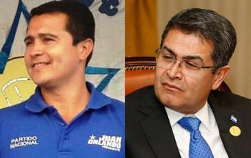 Im Visier der US-Drogenbehörde und der Justiz: Tony Hernández (links) und sein Bruder Juan Orlando, amtierender Präsident von Honduas (Kollage)