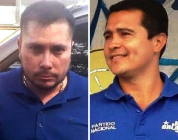 Sollen Partner im Drogengeschäft gewesen sein: Der ermordete Nery López Sanabria (links) und Präsidentenbruder Tony Hernández (Kollage)