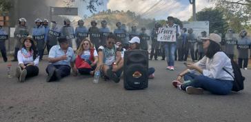 Landesweit gab es Protestaktionen und Straßenblockaden gegen die aktuelle Regierung von Präsident Juan Orlando Hernández