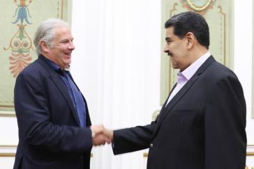 Betonte im Gespräch mit Hunko die Bereitschaft zum Dialog: Präsident Maduro
