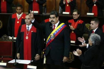 Präsident Maduro legte in Caracas seinen Amtseid für die Periode 2019-2025 ab