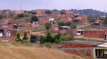 Von Armut geprägt: Die Grenzstadt Cúcuta im kolumbianischen Departament Norte de Santander (Screenshot)