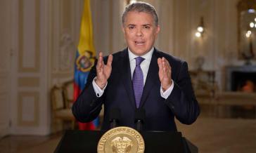 Kolumbiens Präsident Duque legt sein Veto gegen Vereinbarungen der Sonderjustiz für den Frieden ein