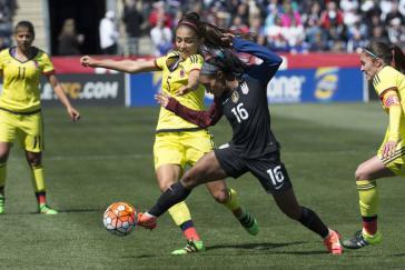 International erfolgreich: Kolumbiens Frauenfußballerinnen