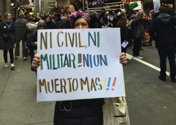 """""""Weder Zivilist noch Militär, kein einziger Toter mehr!"""" - mit diesem Bild illustrierte die ELN ihr Kommuniqué"""