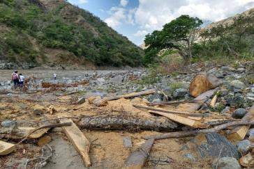 Für den Staudamm wird der Cauca auf 76 Kilometer Länge aufgestaut. Etwa 150.000 Menschen sind direkt davon betroffen