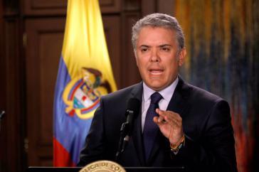 Duque hatte bereits im Wahlkampf angekündigt, den Dialog mit der ELN auf Eis zu legen. Nun hat er ihn offiziell beendet