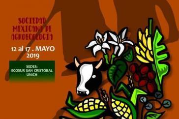 Das Plakat zum Kongress in Chiapas