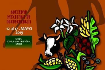Das Plakat zum Kongress, der vergangene Woche in Chiapas stattfand