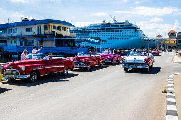 Mit dem Kreuzfahrtschiff nach Havanna