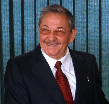 Von der US-Regierung zur Persona non grata erklärt: Raúl Castro, heute Erster Sekretär des Zentralkomitees der Kommunistischen Partei Kubas (Aufnahme von 2008)