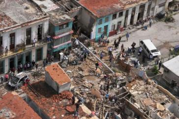 Bei dem Tornado Ende Januar kamen sieben Menschen ums Leben, 7.700 Gebäude wurden beschädigt oder zerstört
