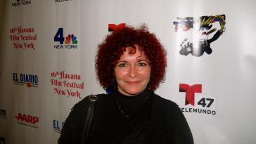 Die kubanische Filmemacherin Marilyn Solaya