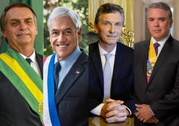 Mit den Regierungen von Bolsonaro in Brasilien, Piñera in Chile, Macri in Argentinien und Duque in Kolumbien ist die Geldaristokratie selber an der politischen Macht