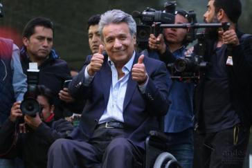 Lenín Moreno könnte wegen des Vorwurfs der Beteiligung an einer Offshore-Firma das Lachen möglicherweise bald vergehen