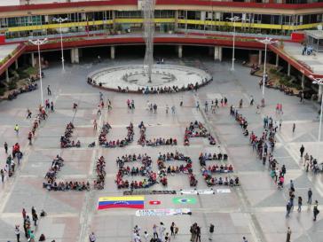 Auch in der venezolanischen Hautpstadt Caracas zeigte man Solidarität mit dem Brasilianer