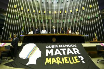 Die Umstände für den Mord an Marielle Franco im März 2018 scheinen geklärt. Das Motiv keinesfalls
