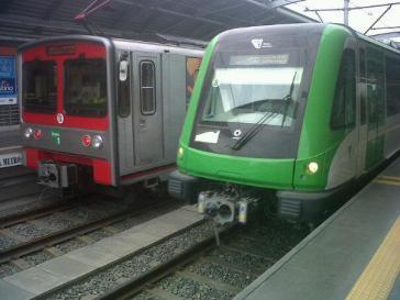 Metro in Lima, Peru: Auch hier soll Odebrecht geschmiert haben