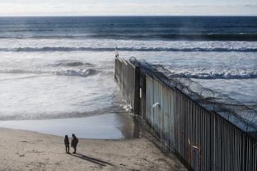 Seit Joe Bidens Amtsantritt versuchen immer mehr Menschen die US-Grenze zu überwinden