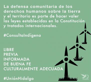 Die indigene Gemeinschaft der Zapoteken aus Unión Hidalgo kämpft gegen einen Windpark