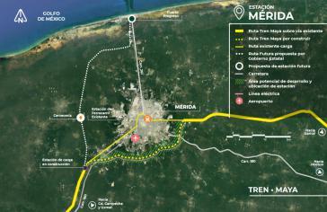Der Tren Maya ist das größte Infrastrukturprojekt von Präsident Andrés Manuel López Obrador